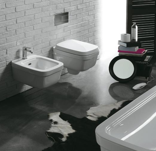 lavabo e sanitari sospesi Evolutions