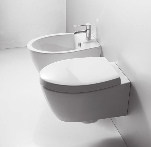 lavabo e sanitari sospesi Lft