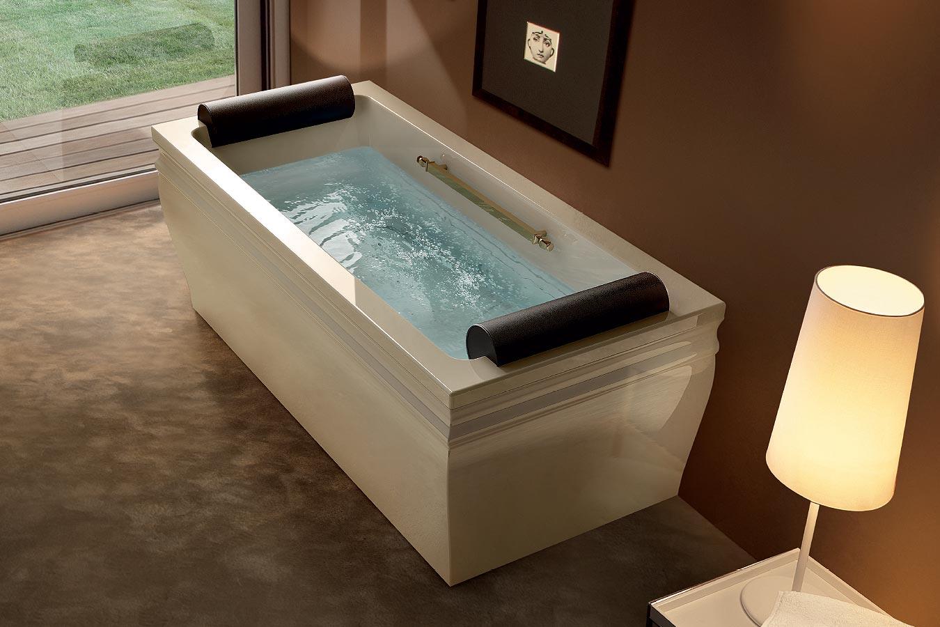 Rivestimento In Legno Per Vasca Da Bagno : Vasca da bagno blanque 1880 arredo bagno pandolfo