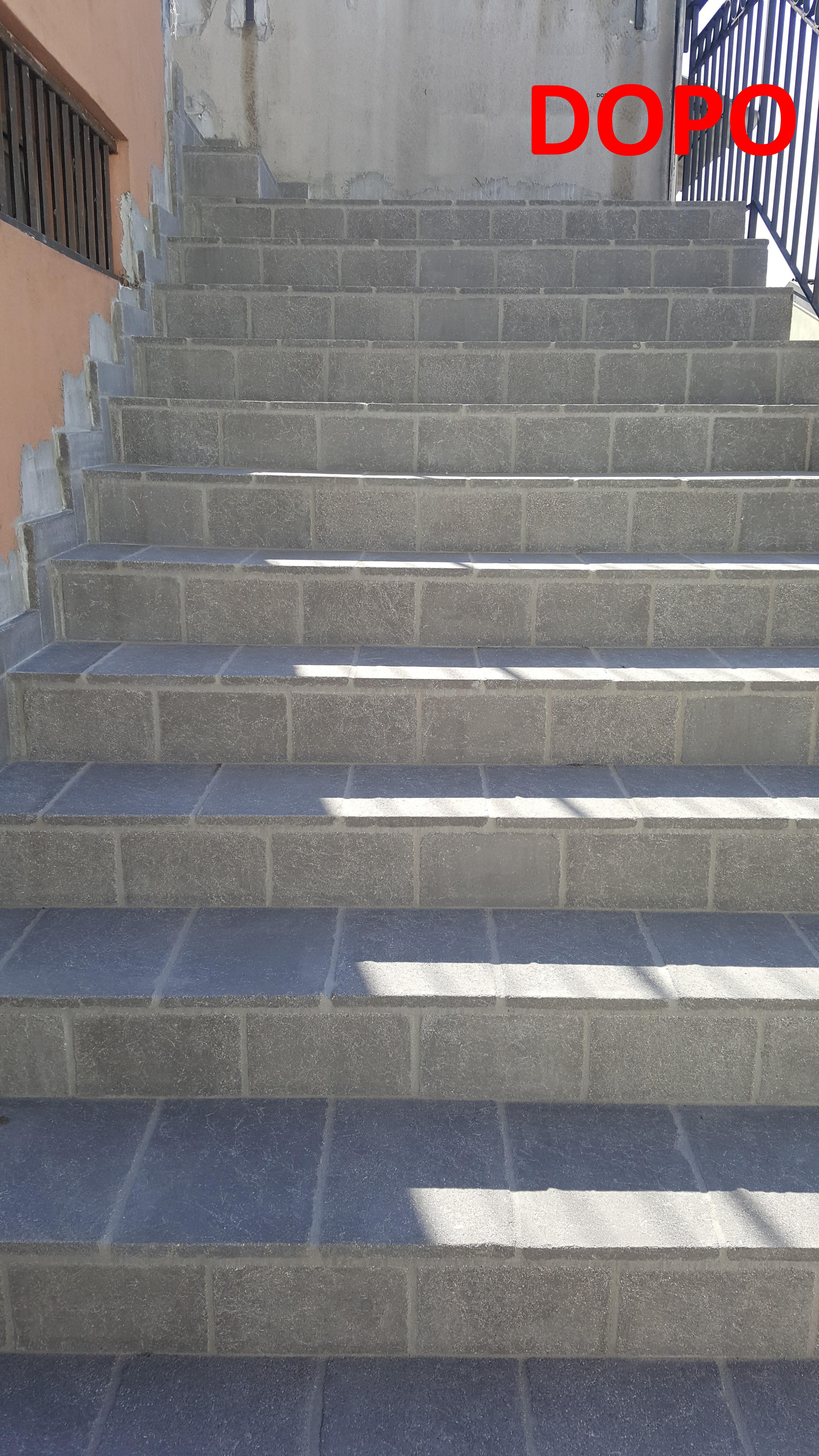 Rifacimento scale esterne venezia padovapandolfo - Rivestimento per scale esterne ...