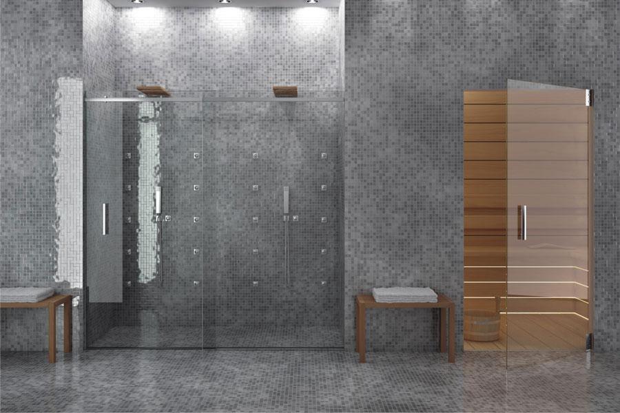 sistema drenante doccia