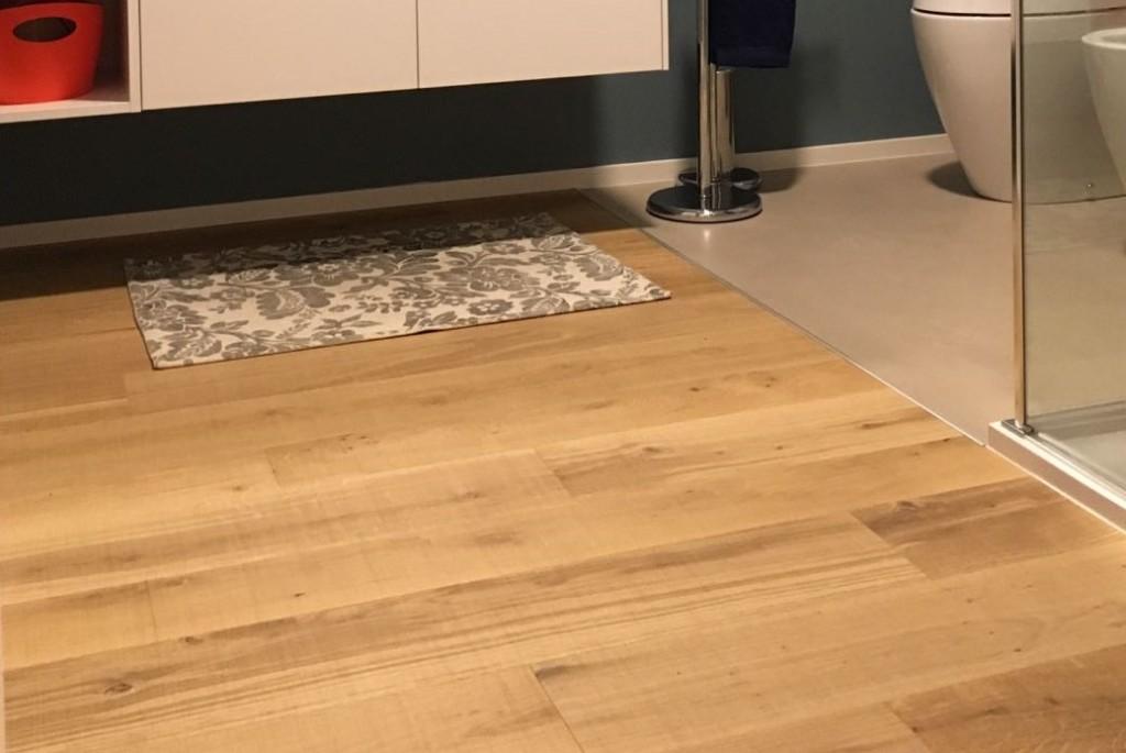 pavimento in rovere dettaglio